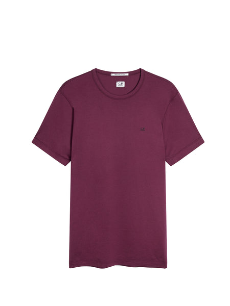 Mako Cotton Logo T-shirt in Gloxinia Purple