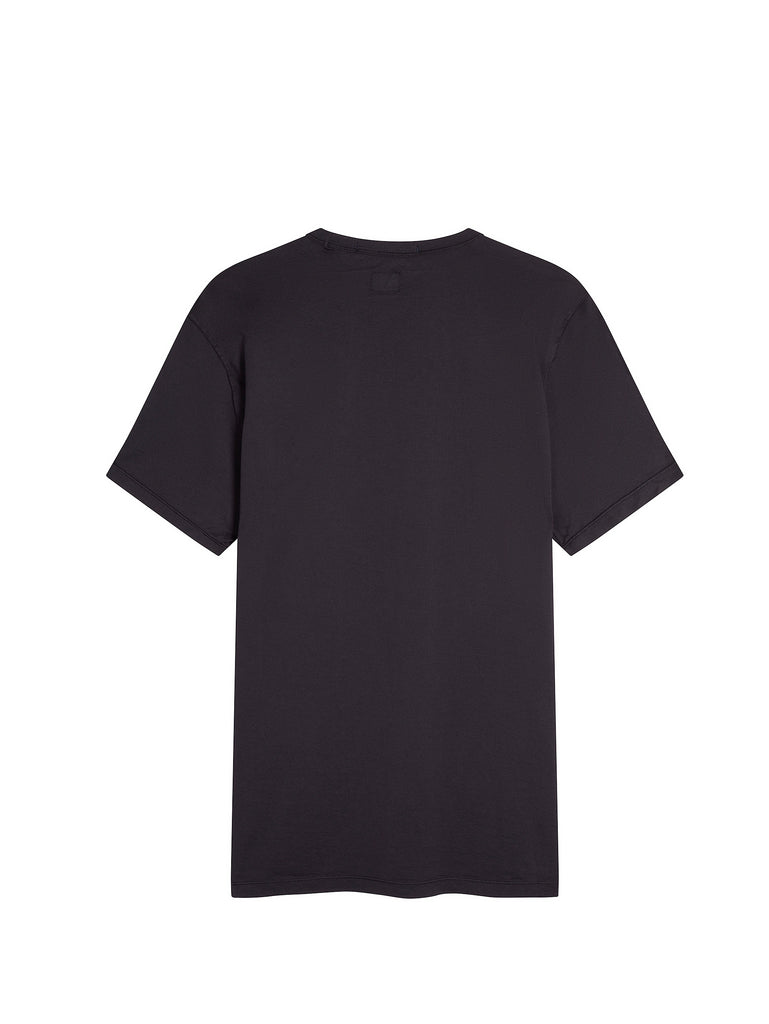Mako Cotton Logo T-shirt in Total Eclipse