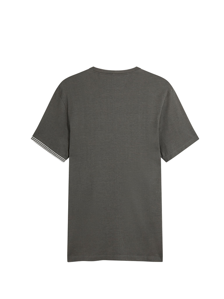 Short Sleeve Crew T-Shirt In Clear Granite
