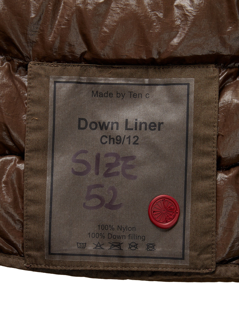 Ten c / Down Liner in Brown