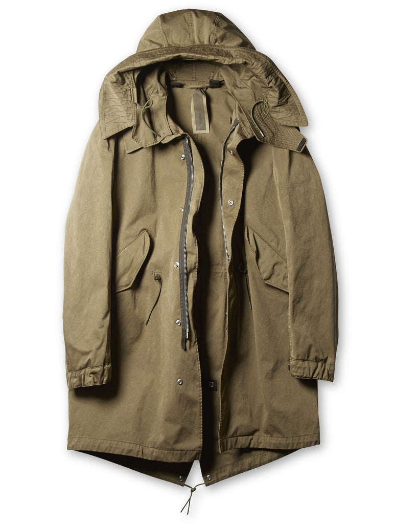 Ten c / Parka in Olive