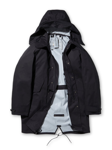 Ten C 3L Parka in Black