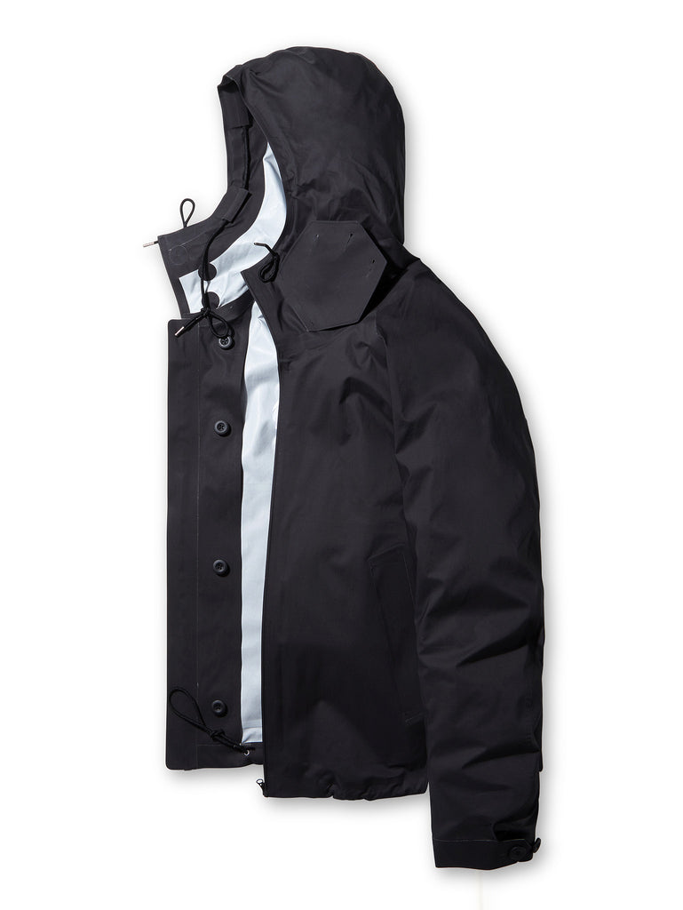Ten C Anorak 3L in Black
