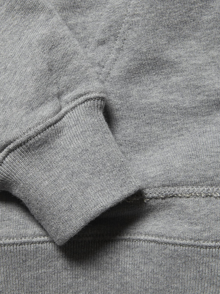 Undersixteen Hoodie with Contrast Lined Goggle Hood in Grey