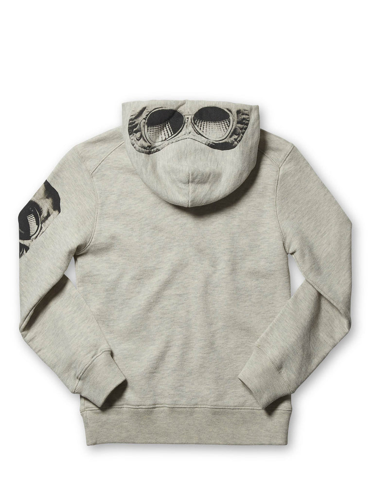 Undersixteen Printed Hooded Sweatshirt in Grey