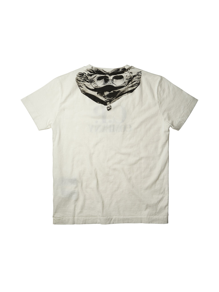 C.P. Company Undersixteen Short-Sleeved T-Shirt in White