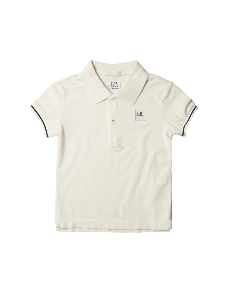 C.P. Company Undersixteen Polo Shirt in White