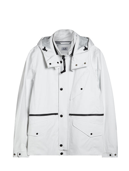 C.P. Company T-Mack ML Jacket in White