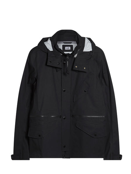 C.P. Company T-Mack Short Jacket in Black
