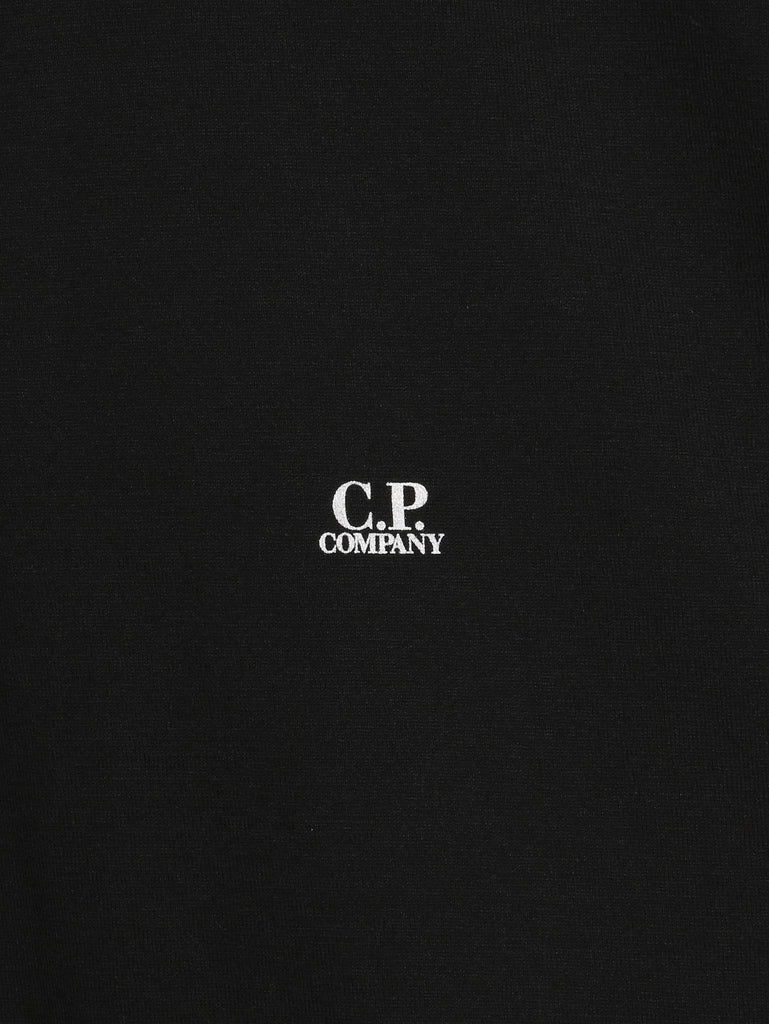 C.P. Company GD Jersey SS Polo in Black