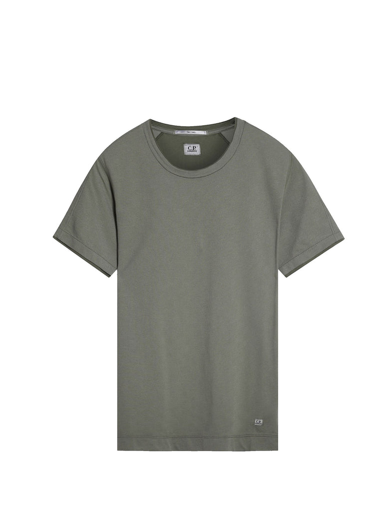 C.P. Company Tacting GD Pique SS T-shirt in Green