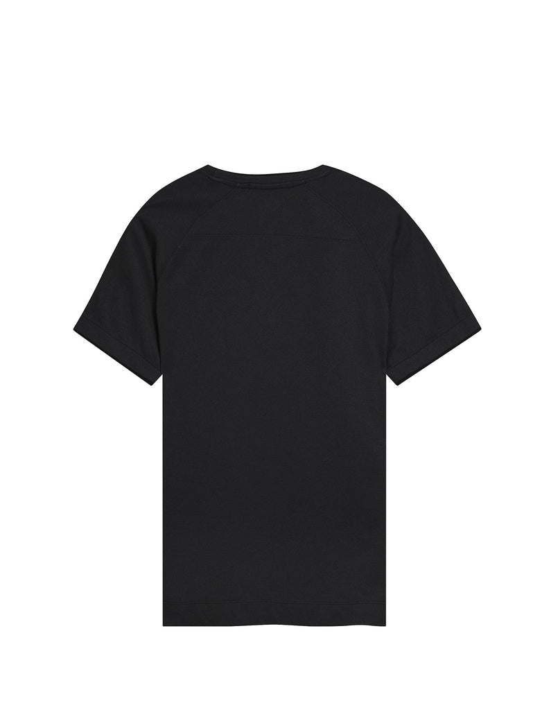 C.P. Company Tacting GD Pique SS T-shirt in Black