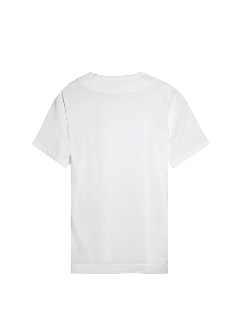 C.P. Company GD SS T-shirt in white