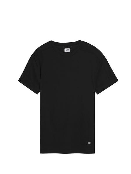 C.P. Company Crew Neck T-shirt in Black