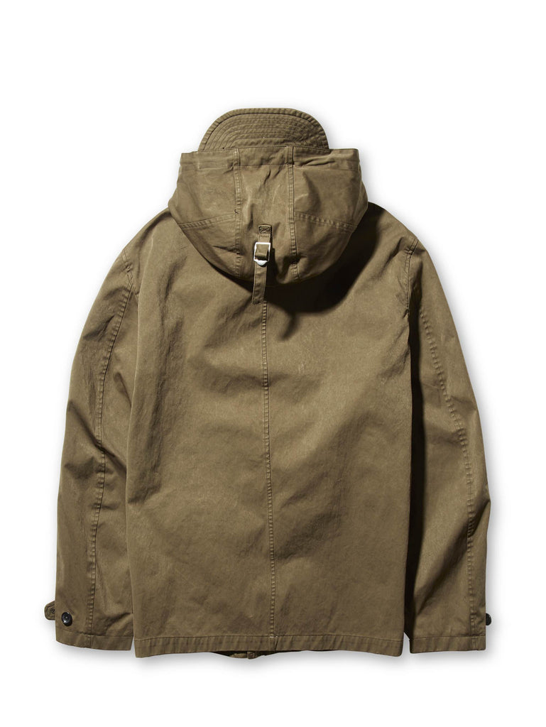 Ten c / Navy Parka in Khaki