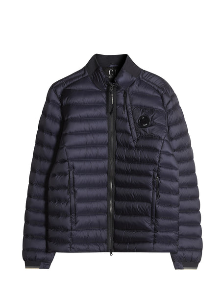 C.P. Company D.D. Shell 3-Pocket Down Jacket in Blue