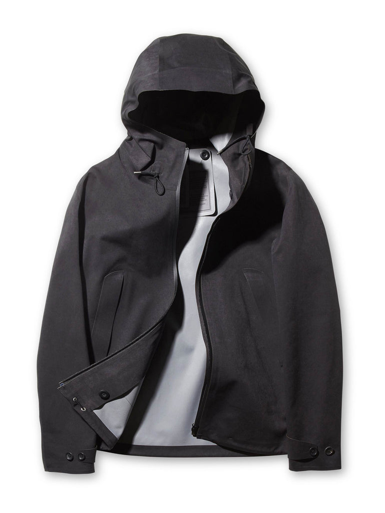 Ten c / Anorak 3L in Black