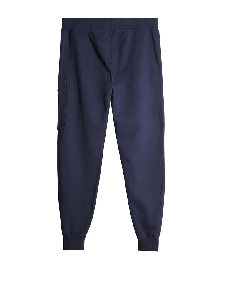 Light Fleece Cargo Trousers In Navy