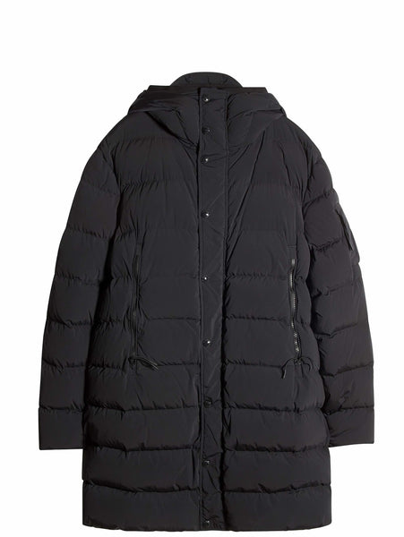 C.P. Company Nycra Down Parka In Black