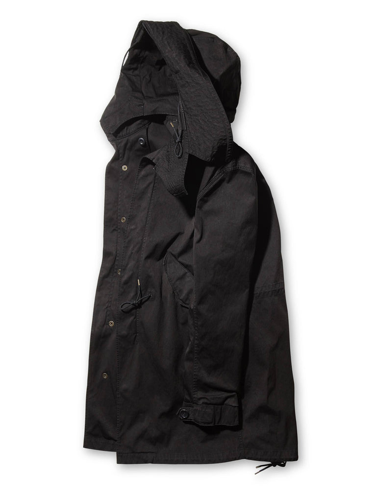 Ten c / Parka in Black