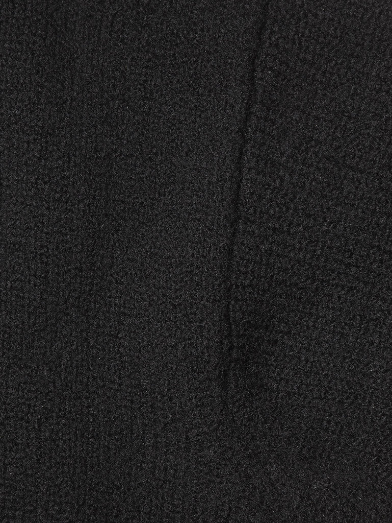 Ten c / Round Neck Knitted Jumper in Black