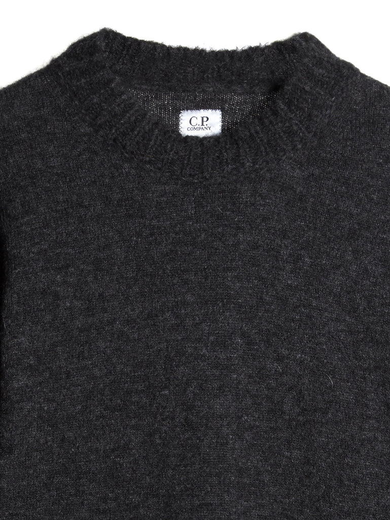 C.P. Company Alpaca Wool Knit in Grey