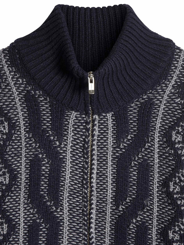 C.P. Company pattern knit in Navy Blue