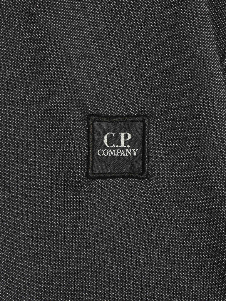 C.P. Company Tacting Regular-Fit Polo Shirt in Black