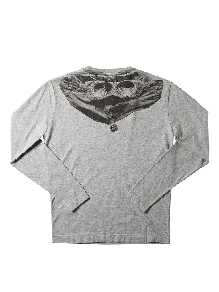 Undersixteen Long Sleeve T-Shirt in Grey