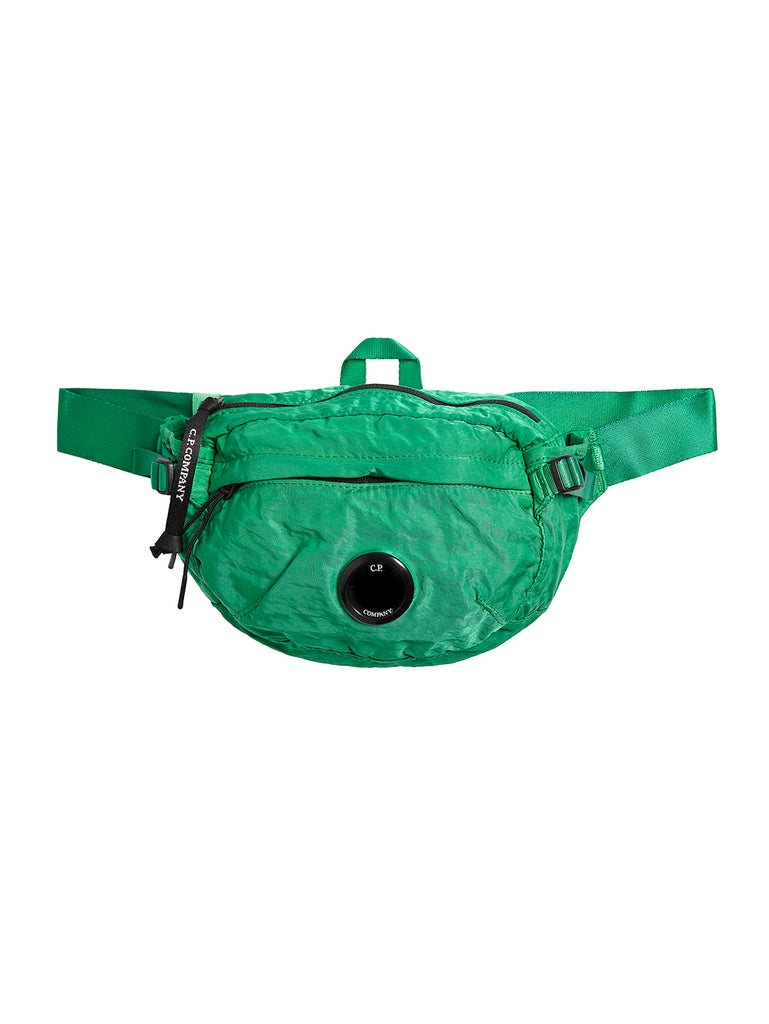 Garment Dyed Nylon B. Lens Waist Bag in Jelly Bean