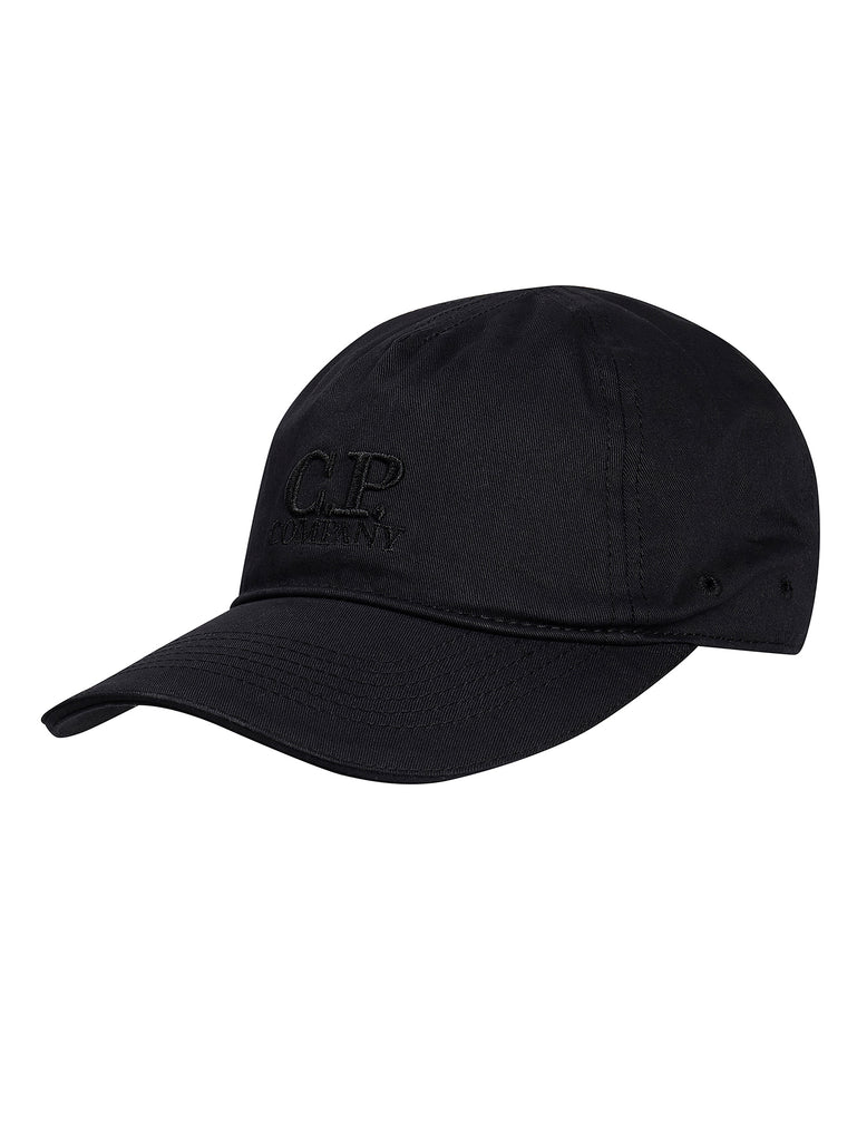 Embroidered Logo Baseball Cap in Black Coffee