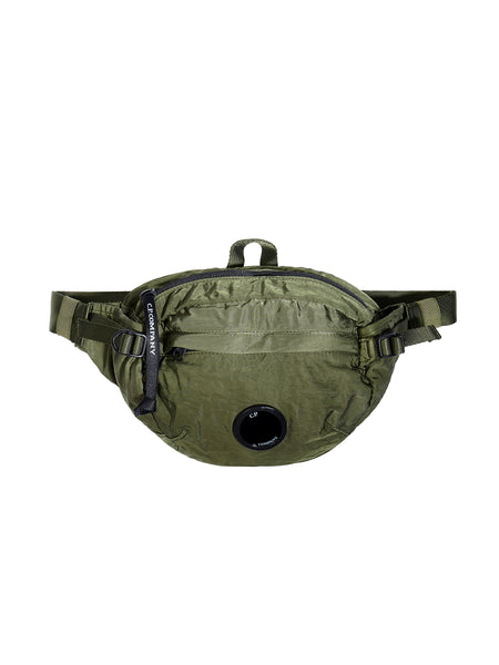 GD Sateen Lens Waist Bag in Pesto