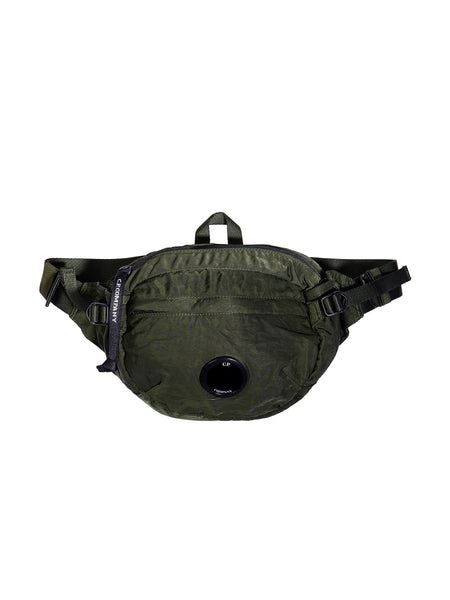 GD Sateen Lens Waist Bag in Green