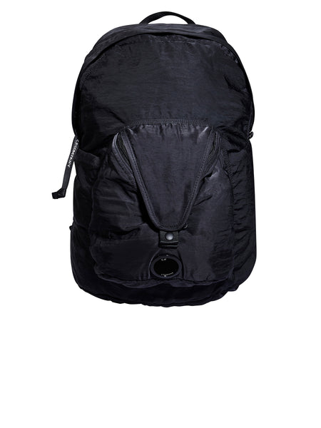 GD Sateen Lens Backpack in Black