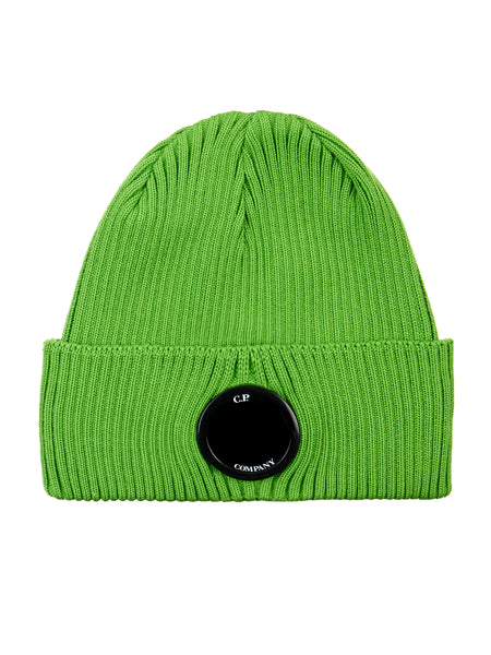 Cotton Lens Hat in Classic Green