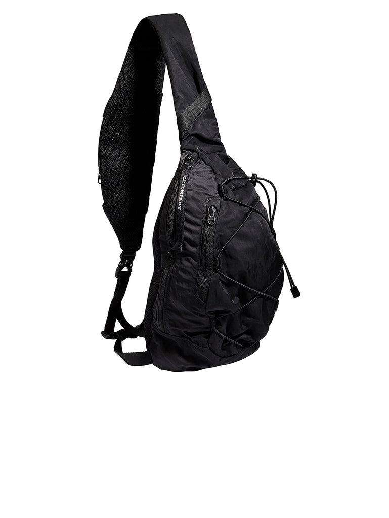 Lens Shoulder Strap Backpack in Black
