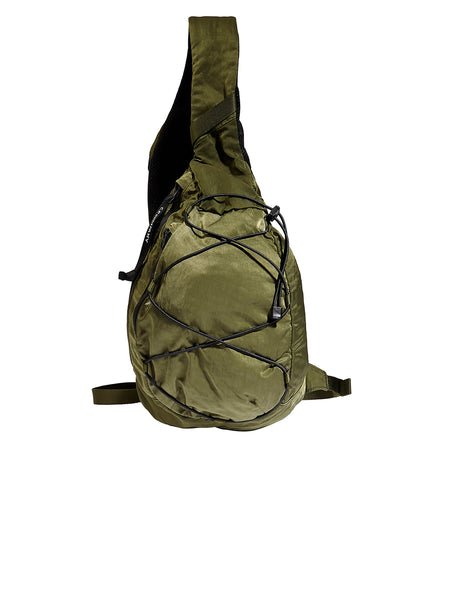 Lens Shoulder Strap Backpack in Pesto