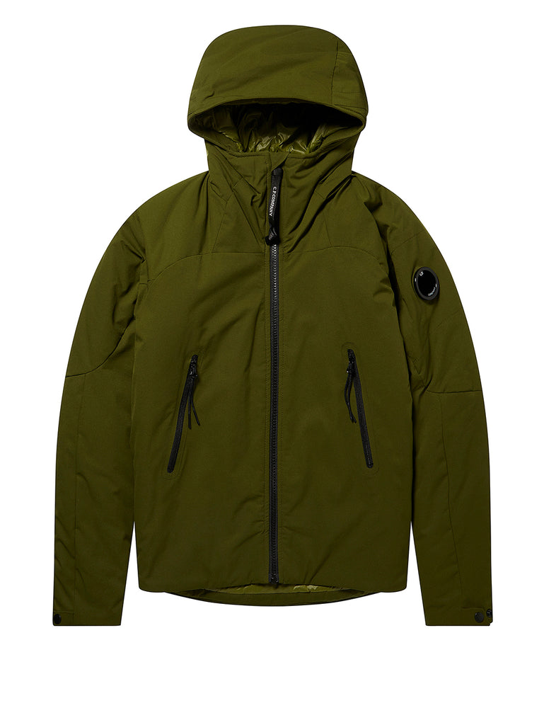 Undersixteen Pro-Tek Lens Sleeve Hooded Jacket in Pesto