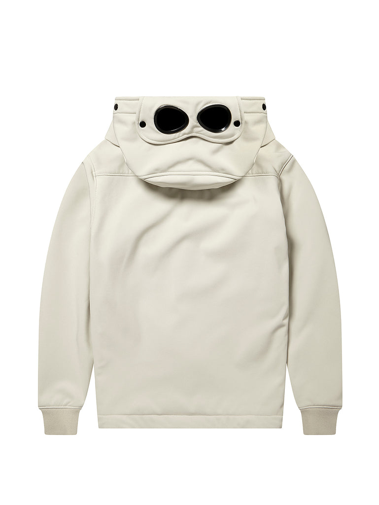 Undersixteen Shell Goggle Hood Jacket in White