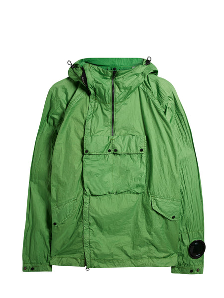 Nyfoil Goggle Double Zip Utility Jacket in Classic Green