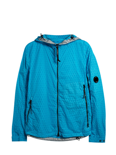 Air-Net Lightweight Hooded Jacket in Hawaiian Ocean