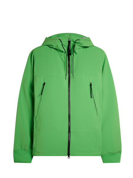 Shell Goggle Jacket in Classic Green