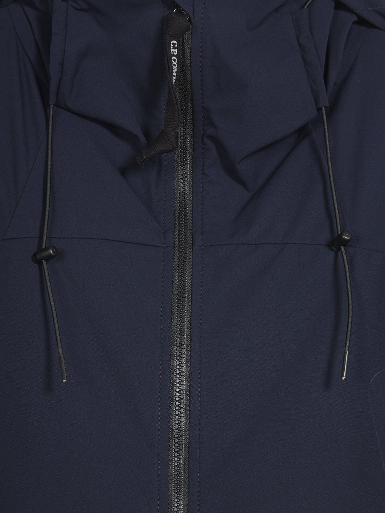 C.P. Company Pro-Tek Hooded Short Jacket in Navy