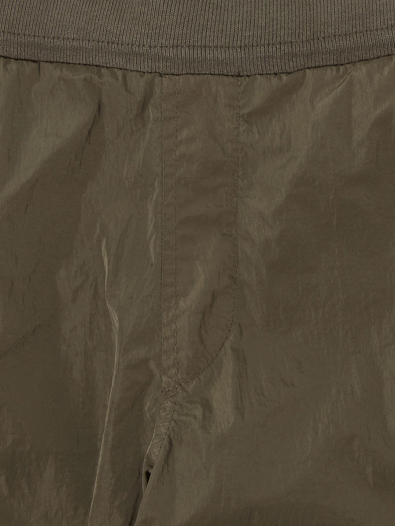 Undersixteen Basic Fleece Mixed Lens Sweatpants in Ivy Green