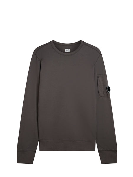Light Fleece Lens Sweatshirt in Raven Grey
