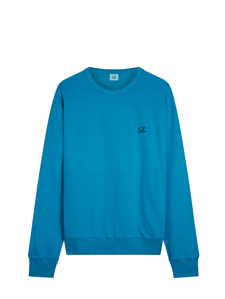Logo Crew Neck Sweatshirt in Hawaiian Ocean