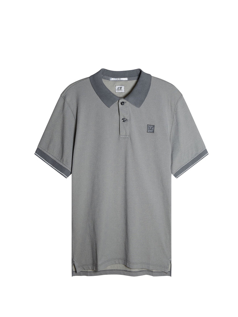 C.P. Company Tacting Regular-Fit Polo Shirt in Grey