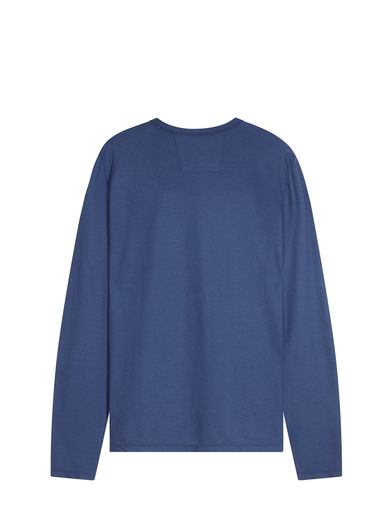 C.P. Company Garment Dyed Crêpe Jersey in Blue