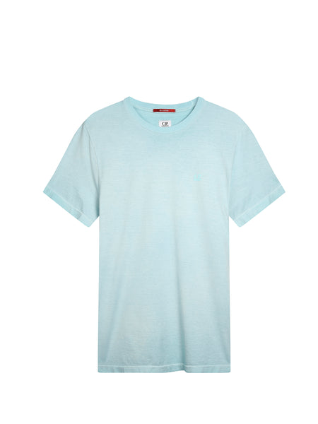 Re-Colour Mako Cotton T-Shirt in Blue Radiance