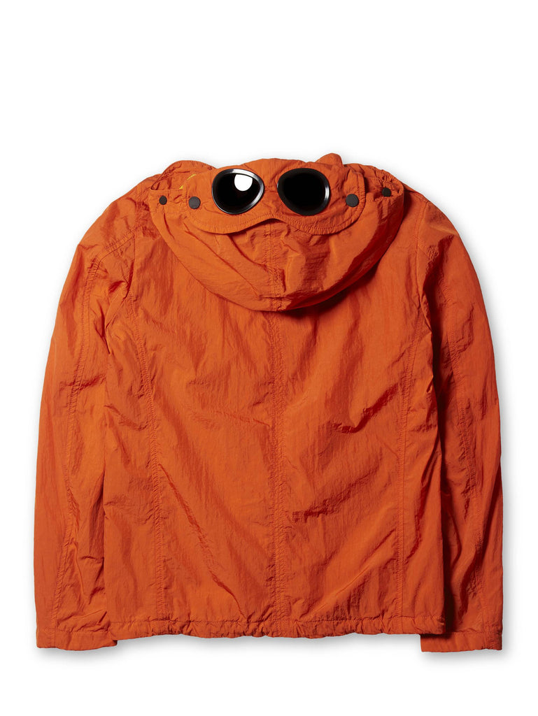 Undersixteen Goggle Nylon Jacket in Orange
